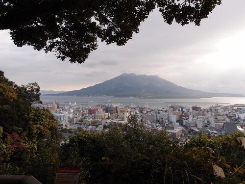 桜島城山展望台